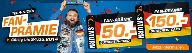Saturn Fan Prämie WM 2014