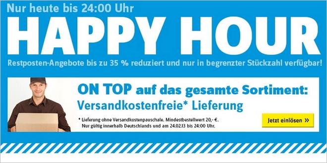 Conrad Happy Hour: Restposten-Angebote bis zu 35% günstiger