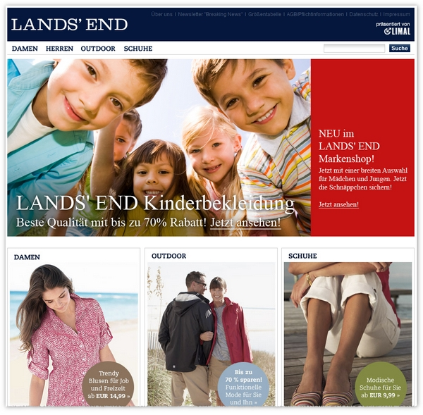 Lands' End Outlet bei eBay
