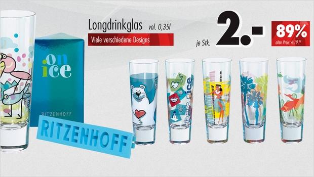 Ritzenhoff Ausverkauf von Restposten und Einzelstücken im LIDL Shop