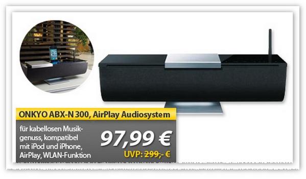 Onkyo ABX N300 jetzt bei MeinPaket günstiger
