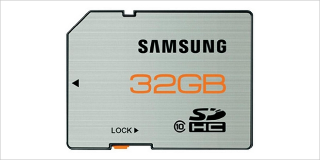 SD-Karte Samsung 32 GB (SDHC Class 10) für 17,99 € im Conrad-Outlet bei eBay