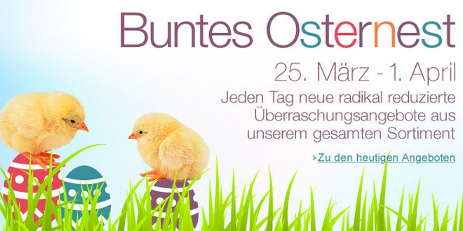 Amazon Osternest Angebote 2013