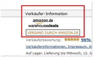 Amazon Warehousdeals Gutschein