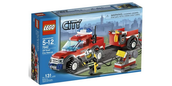 LEGO City 7942 Feuerwehr Pick-up