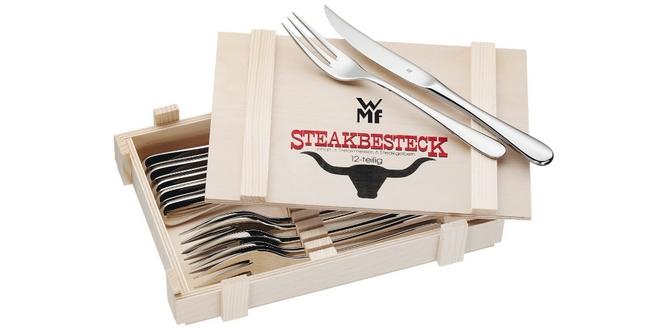 WMF Steakbesteck in der Holzkiste