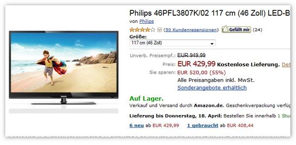 Philips 46PFL3807K
