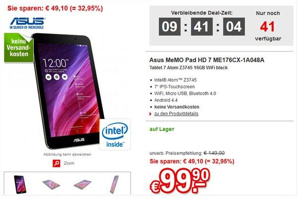 Asus MeMo Pad HD 7 bei Redcoon