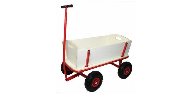 bollerwagen aus holz bis 100 kg f r 34 99. Black Bedroom Furniture Sets. Home Design Ideas