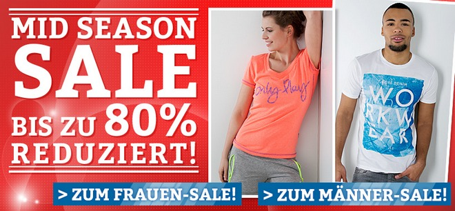 DefShop Mid Season Sale im DefShop Outlet
