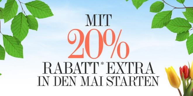 dress-for-less Gutschein: 20% Extra-Rabatta auf gekennzeichnete Artikel am 01.05.2013 und 02.05.013