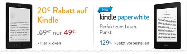 Kindle Paperwhite gebraucht Angebot