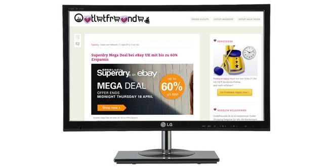 23 Zoll TV und Monitor LG Flatron M2382D-PZ für 149 € im Cyberport-Outlet bei eBay