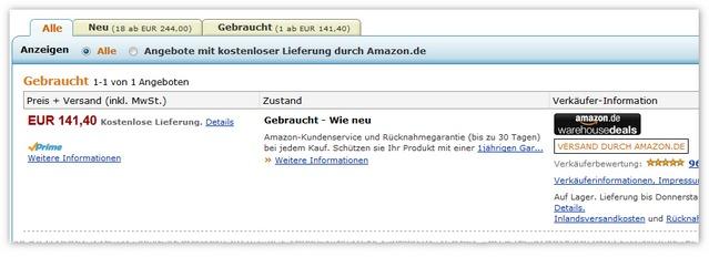 Philips 22PFL3507H wie neu für 141,40 € bei den Amazon Warehousedeals
