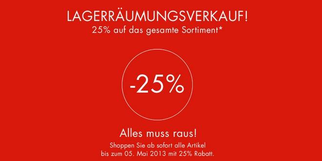 Seidensticker Lagerräumungsverkauf: 25% Rabatt + 20% Seidensticker Gutschein