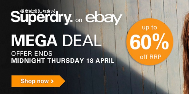 Superdry Mega Deal ebay UK