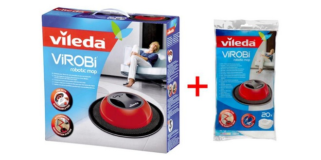 Vileda Virobi + 20 Nachfülltücher
