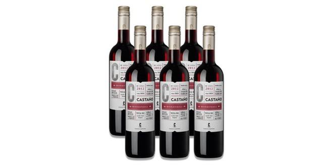 Weinlet: 6 Flaschen Rotwein Bodegas Castaño Monastrell für 30 €