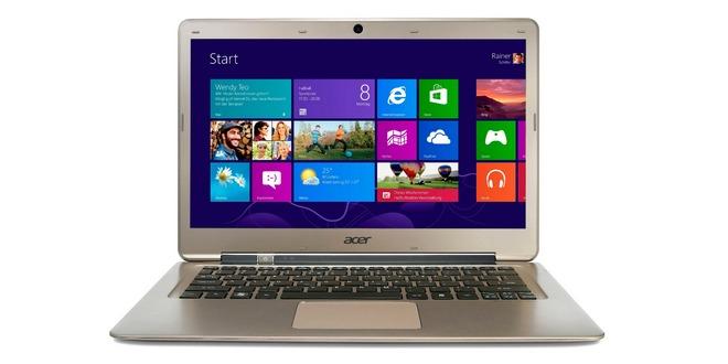 13,3 Zoll Ultrabook Acer S3-391-33214G52add mit Windows 8 für 399,99 € bei OTTO