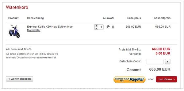 A.T.U Roller Kallio für 666 €