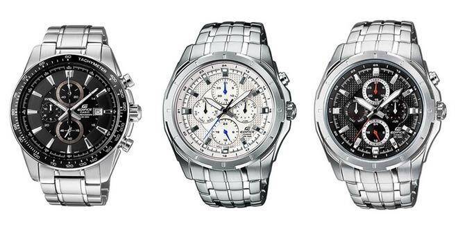 Casio Edifice Chronographen & Uhren günstiger mit 20% Amazon-Rabatt