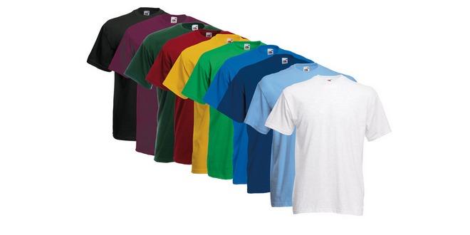 10 Fruit of the Loom T-Shirts für 21,99 als eBay-WOW-Tagesangebot
