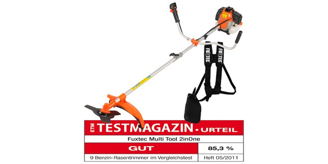 Benzin-Rasentrimmer Fuxtec 2inOne Multi Tool für 89,95 € frei Haus