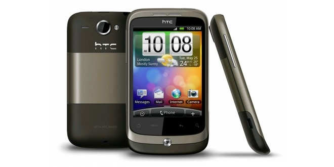HTC Wildfire mocca