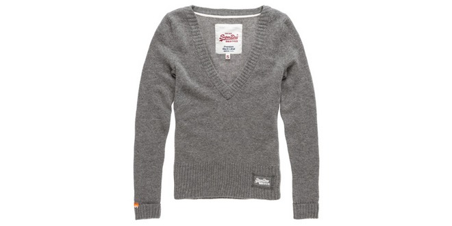 Strickpullover Superdry Harrow im Superdry Outlet bei eBay für 31,45 €