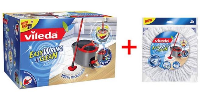 Vileda Easy Wring & Clean Wischmop bei eBay für 29,99 €