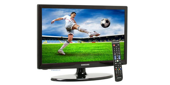 19 zoll led tv samsung ue19es4000w als b ware f r 108 29. Black Bedroom Furniture Sets. Home Design Ideas