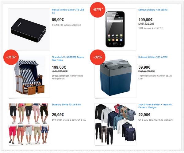 eBay Deals Festival Angebote vom 12.06.2013