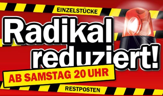 MediaMarkt: Restposten & Einzelstücke Abverkauf bis Montag, 17.06.2013
