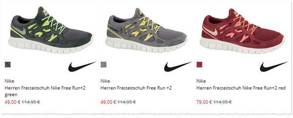 Nike Free günstig kaufen bei Engelhorn