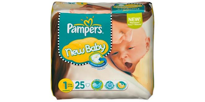 Windeln günstig kaufen: Pampers New Baby Newborn Gr. 1