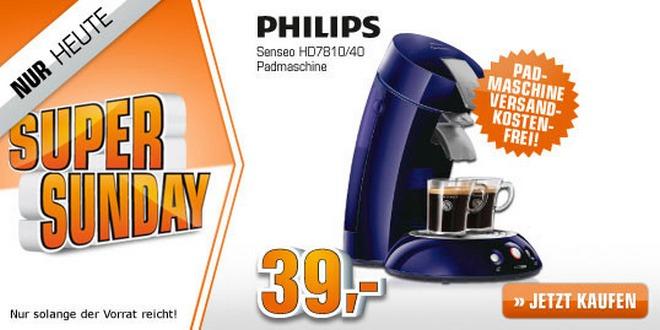 Senseo HD 7810/60 aus der Media Markt Werbung 39