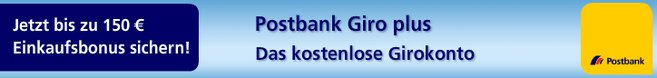 Postbank Happy Hour Shopping