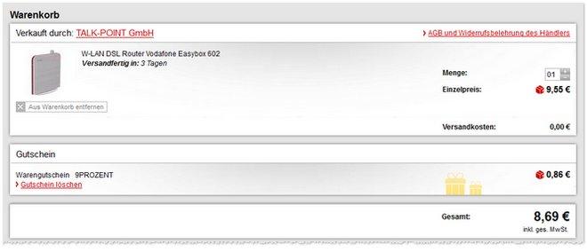 Vodafone EasyBox 602