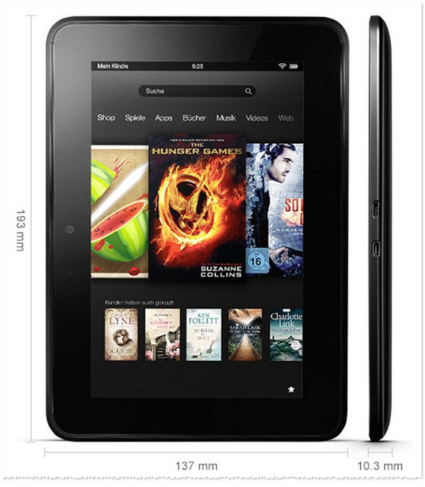 Amazon Kindle Fire HD günstiger