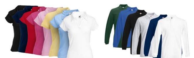 Fruit of the Loom Polo-Shirts billig kaufen