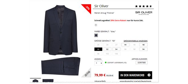 Sir Oliver Selection Firenze