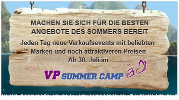 Vente Privee Summer Camp