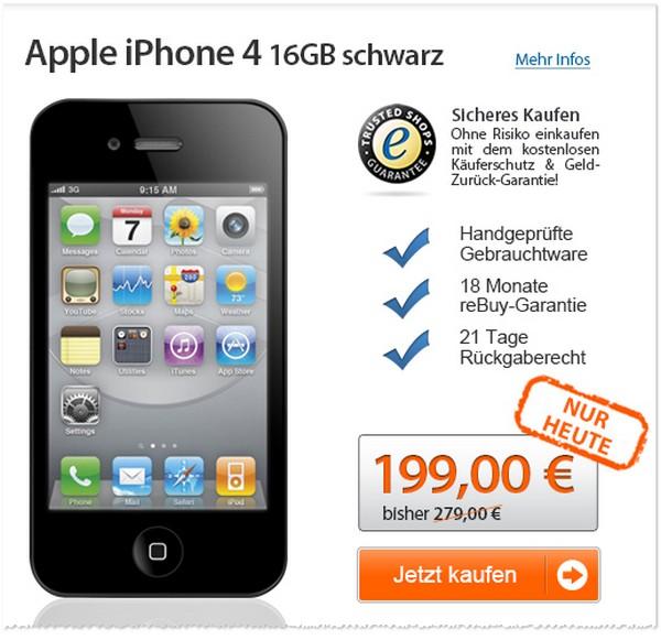iPhone 4 ohne Vertrag
