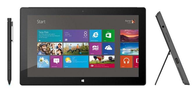 Microsoft Surface Pro 128 GB bei Cyberport