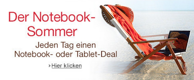 Notebook Sommer bei Amazon
