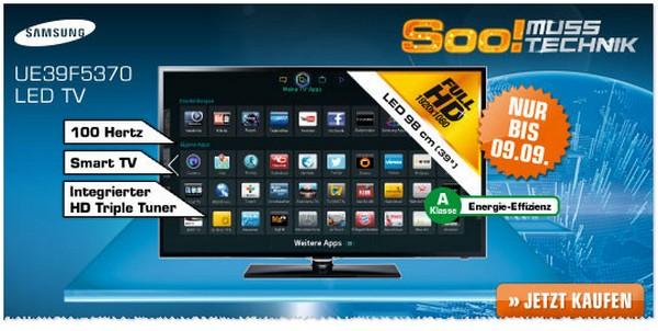 Samsung UE46F5370 aus der Saturn-Werbung