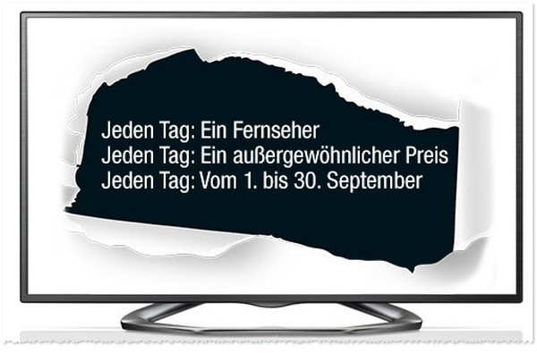 Amazon TV Deal Wochen im September