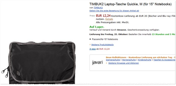 TIMBUK2 Laptop-Tasche