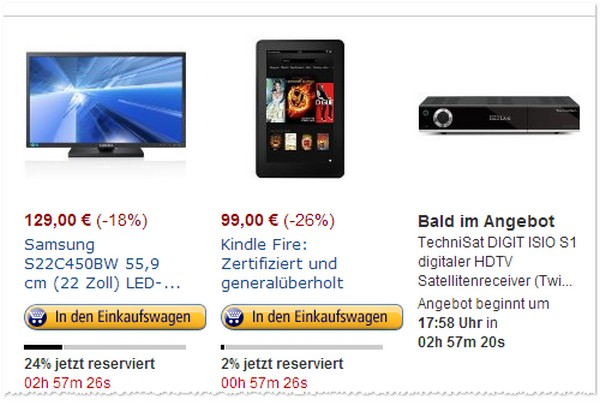Amazon Kindle Fire HD zertifiziert + generalüberholt