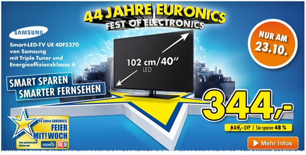 Samsung UE40F5370 bei Euronics